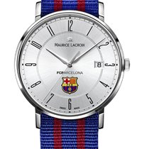 Maurice Lacroix Eliros Date White Dial, Arabic, Textile Red...