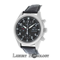 IWC Authentic Men's Schaffhausen IW371701 Pilot's...