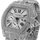Cartier Roadster Xl W62020x6 White Original Dial Stainless...
