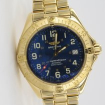 Breitling SuperOcean Gelbgold K10040