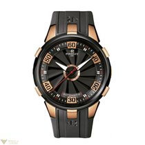 Perrelet Turbine XL 18k Rose Gold Stainless Steel with DLC...