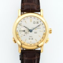 Ulysse Nardin Yellow Gold GMT Perpetual Calendar Ref. 321-22