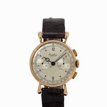 Breitling Premier Chronograph, 18K Gold, Switzerland, 1940-1943