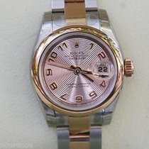 Rolex Ladies Datejust Watch Rose Gold Steel Two Tone 179171...