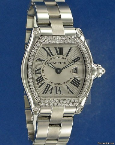 Cartier Roadster Lady Diamonds
