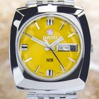Rado Ni 9  Stainless Steel Automatic Watch 1968 Scx240