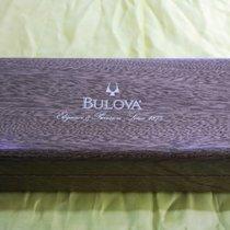 Bulova vintage wooden watch box