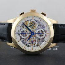 Perrelet Chronograph Skeleton GMT - A3007