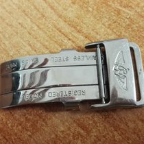Breitling vintage buckle deployante stainless steel mm 18