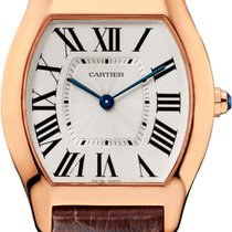 Cartier Tortue Pink Gold Oro Rosa 18ct New W1556362