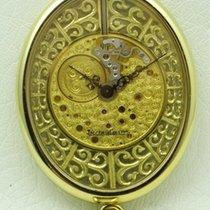 Jaeger-LeCoultre Vintage Oval Skeleton Pendant Watch 18 kt...