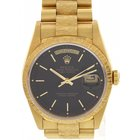 Rolex Men's Rolex Day Date 18K YG President 18238 Bark Finish