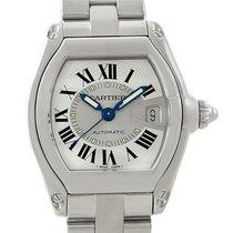 Cartier Roadster Mens Steel Large Watch W62000v3