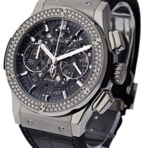 Hublot Classic Fusion 45mm Chronograph with Diamond Bezel