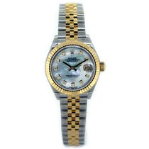 Rolex Lady Datejust 28 279173 White Mother of Pearl Diamond Dial