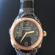 Panerai Radiomir Pink gold Ltd Ed New 45% off