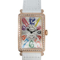 Franck Muller New  Long Island 18 K Rose Gold With Diamonds...