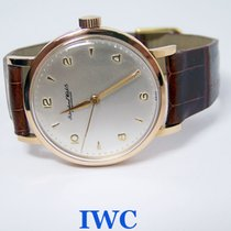 IWC 18k Rose IWC SHAFFHAUSEN Winding Watch c.1950s Cal.89 EXLNT