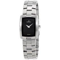 Movado Eliro Black Dial Ladies Watch