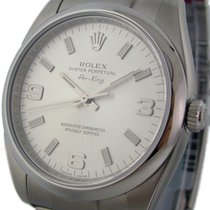 Rolex Air-King Stainless Steel Silver Dial 34mm Ref. 114200