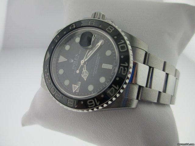 Rolex Gmt Master Ii 116710 Black Dial & Bezel M Serial W/ Warranty Card