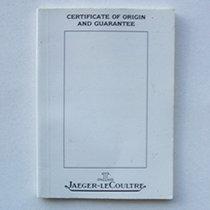 Jaeger-LeCoultre Garanzia / Warranty