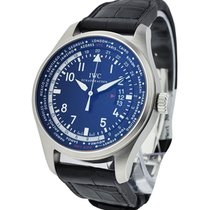 IWC Pilots Worldtimer in Steel