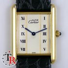 Cartier Must Tank gold plated