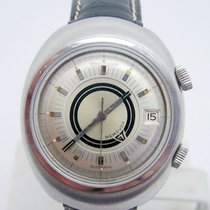 Jaeger-LeCoultre S/Steel MEMOVOX Alarm Automatic Watch E861...