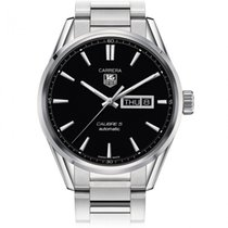 TAG Heuer CARRERA DAY-DATE black dial