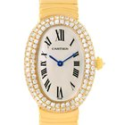 Cartier Baignoire Joaillerie 18k Yellow Gold Diamond Ladies...