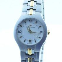 Maurice Lacroix Damen Uhr Quartz 28mm Calypso Stahl/gold Rar