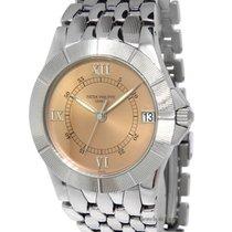 Patek Philippe Mens Neptune Steel Salmon Dial Automatic Watch...