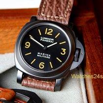 Panerai Pre Vendom 5218-202a Marina Militare PVD NON Matching...