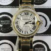 Cartier WE9004Z3 Ballon Bleu 36 Yellow Gold Diamond Bezel
