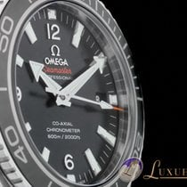 Omega Seamaster Planet Ocean 600m Co-Axial Edelstahl Sichtbode...