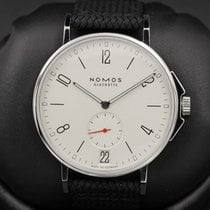 Nomos FSOT:  Ahoi Datum - Model 551 - Stainless Steel - White...