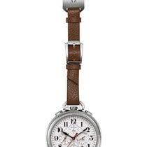 Bulova UHF Pocket Watch - Chronograph - Date - Brown Leather...