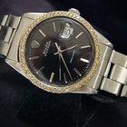Rolex Oysterdate Date Watch Diamond