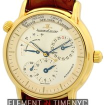 Jaeger-LeCoultre Master Control Geographic 18k Yellow Gold...