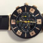 Louis Vuitton LV277 Chronograph Tambour in Black Gold R...
