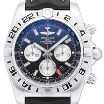 百年靈 (Breitling) Breitling Chronomat GMT Leder AB0413B9.BD17.44...