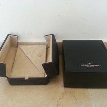 Vacheron Constantin vintage watch boxes black leather