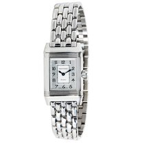 Jaeger-LeCoultre Reverso Duetto Steel & Diamond Manual...
