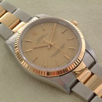 Rolex Oyster Perpetual St / G 34mm, Oysterband wie Neu...