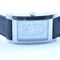 Baume & Mercier Damen Uhr 26x37mm Hampton Quartz Stahl/sta...