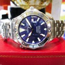Omega Seamaster Professional Chronometer Stainless Steel Wave...