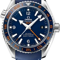 Omega Seamaster Planet Ocean 600 M Omega Co-Axial GMT Good Planet