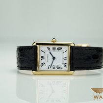 Cartier Tank Ref: 881052 750/18K Gold Faltschliesse Gold