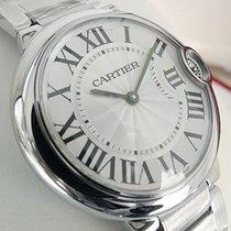 Cartier Ballon Bleu W69011z4 Medium Size Stainless Steel White...